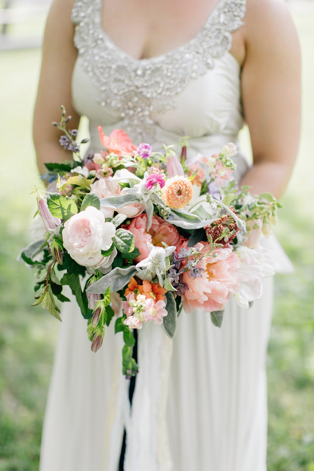 Colorful chic bouquet