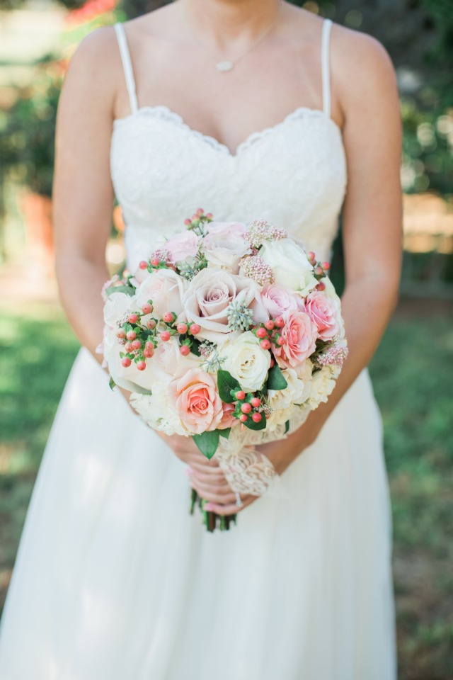 Pretty round bouquet