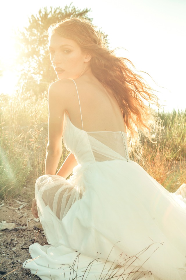 Aries wedding gown from Elaya Vaughn 2017 collection