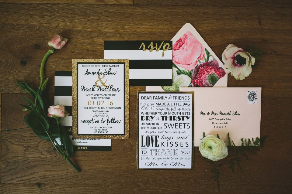 Conjoined Creative wedding wedding stationery