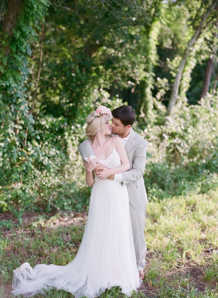 sweet garden wedding photo ideas
