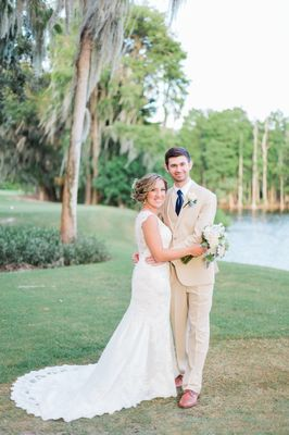 A Nautical Blue Blush and Gold Wedding in Palm Harbor Florida