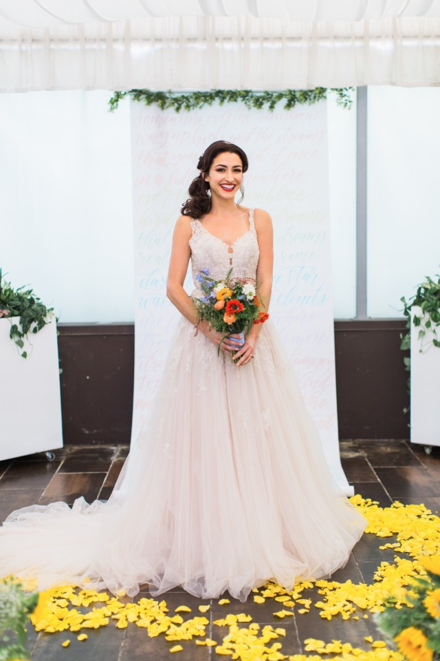 wedding dress from Lili Bridals