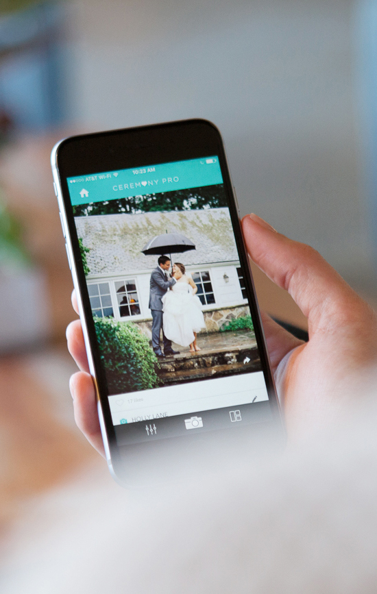 Use this app at your wedding to collect photos
