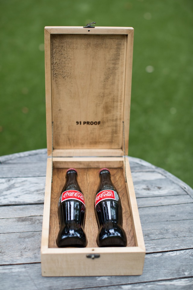 coke box for your wedding