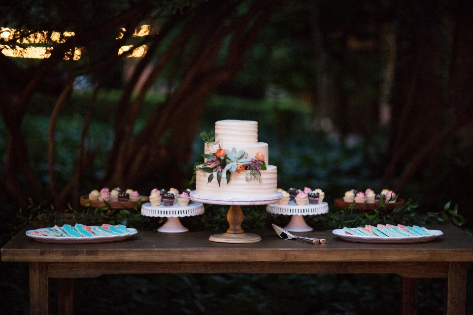 simple and sweet dessert table