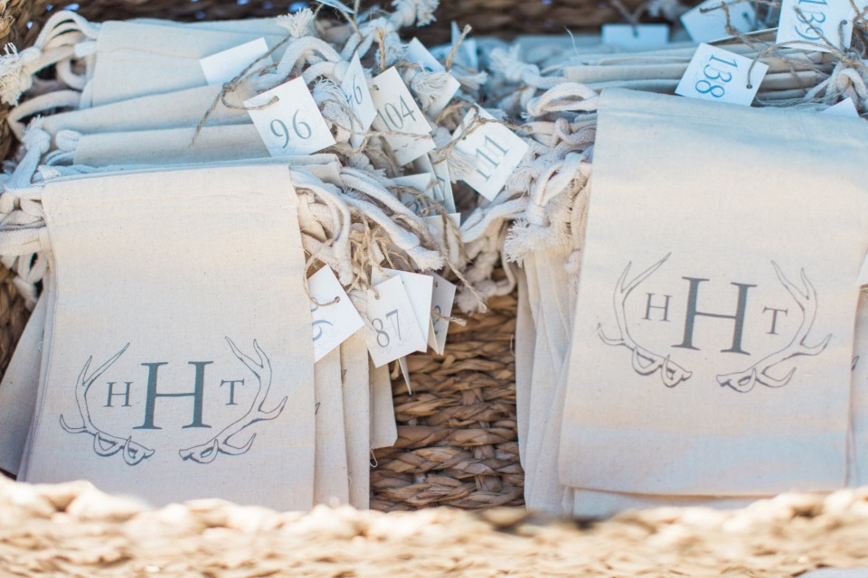 unplugged ceremony phone bags