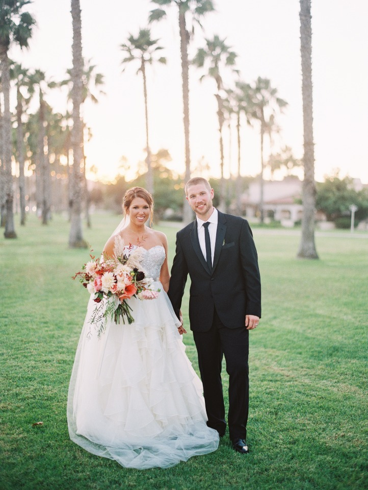 Romantic Fall Santa Barbara Wedding