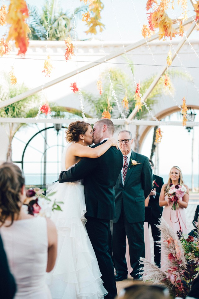Fall wedding in Santa Barbara
