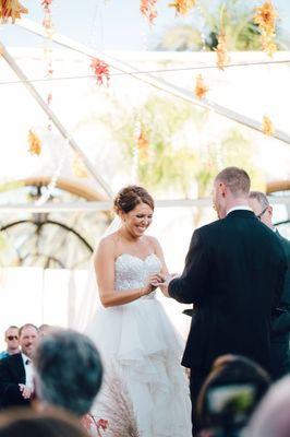 Romantic and Dreamy Outdoor Fall Glam Wedding In Santa Barbara