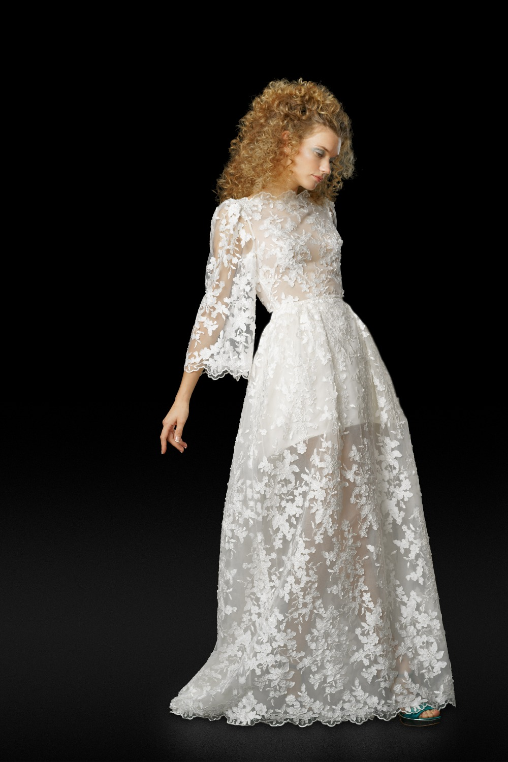 Elegant Ada dress by Elizabeth Fillmore
