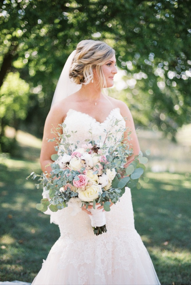 romantic southern style bouquet