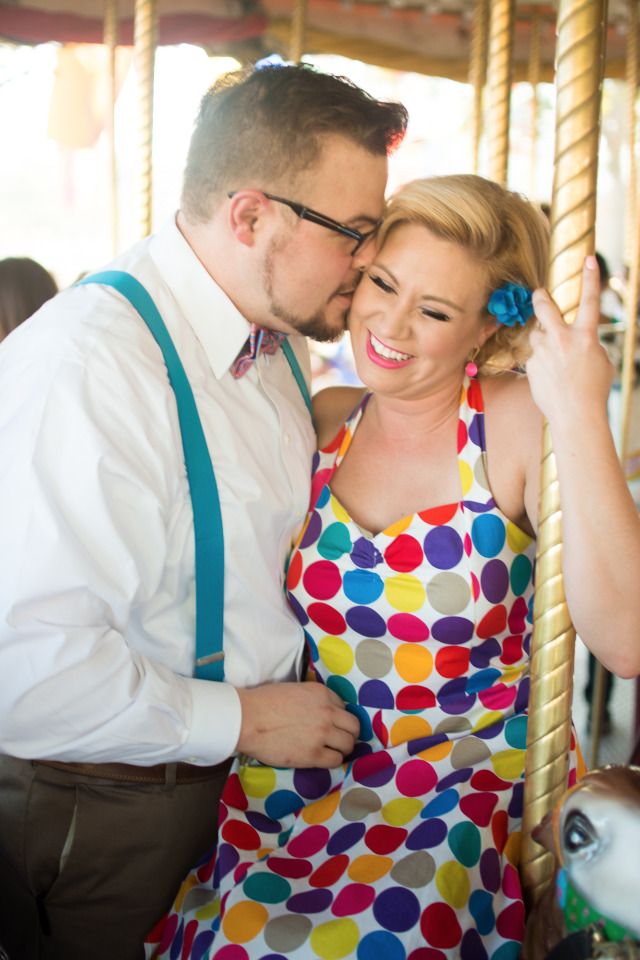 carousel engagement photography ideas