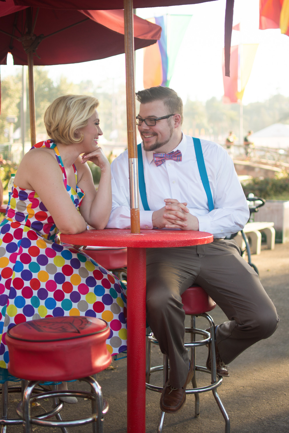 county fair engagement session photography
