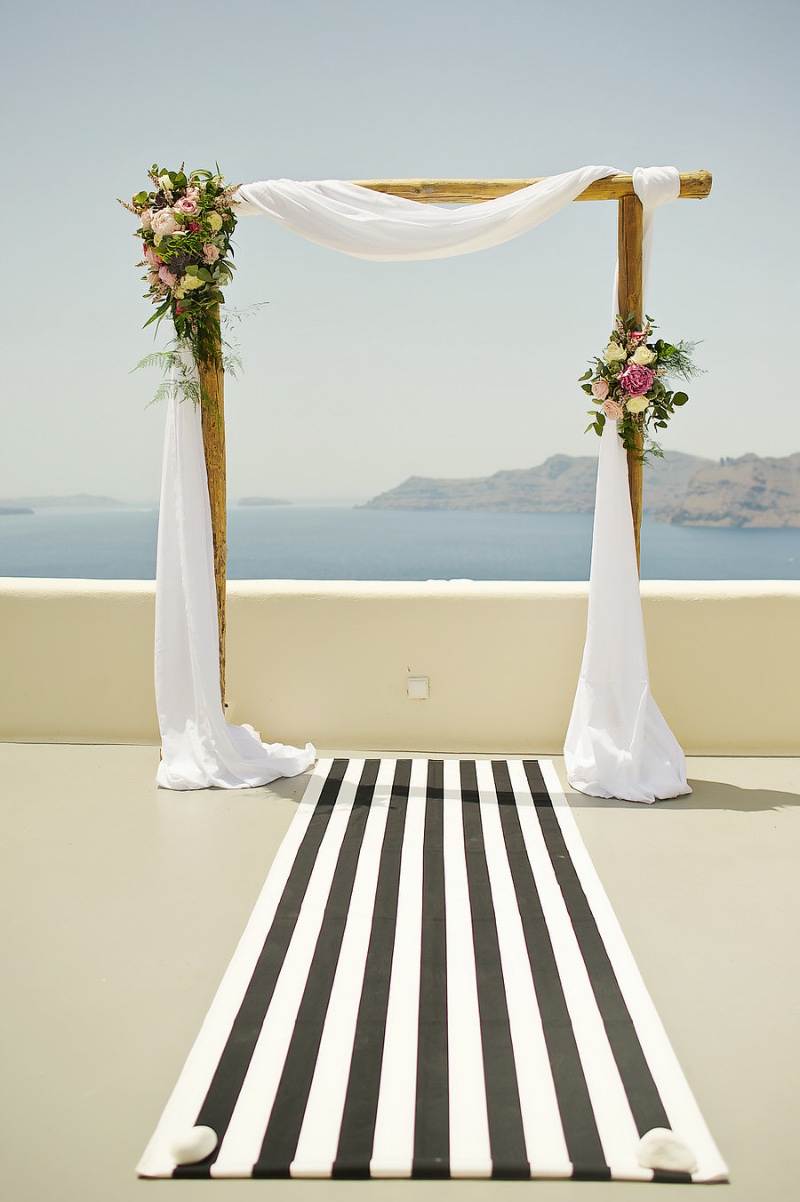 Inspiration Image from Tie the Knot in Santorini-Weddings & Events