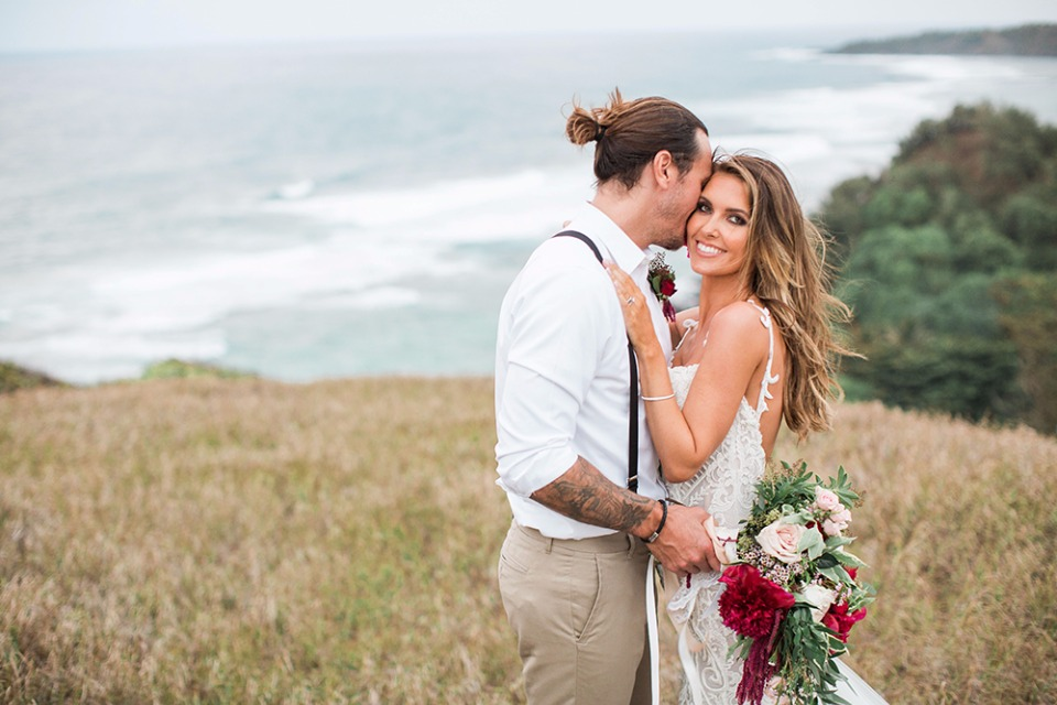 Audrina Patridge Kauai wedding