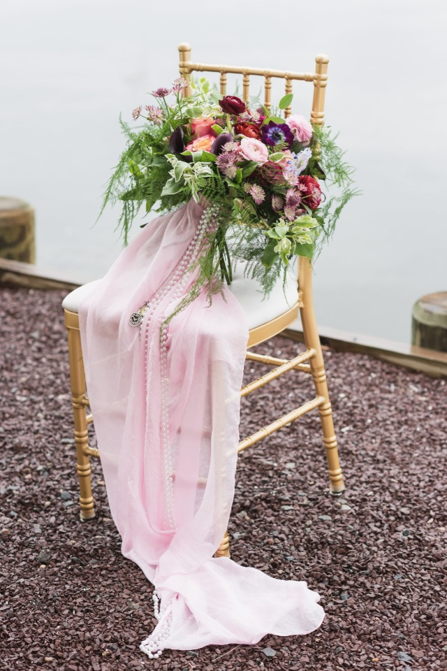 romantic wedding bouquet