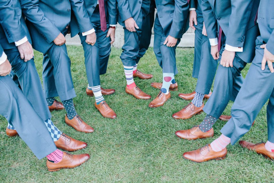 fun socks for groomsmen