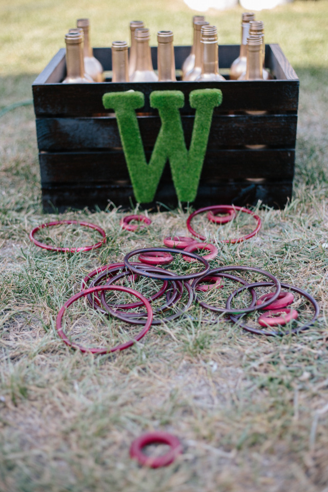 wedding lawn game ideas