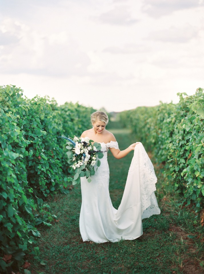 romantic wedding gown from White Dress of Lexington