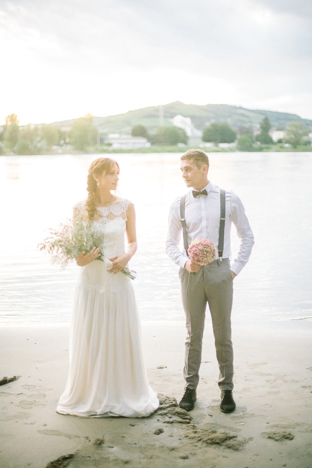 Sand and sea wedding inspiration