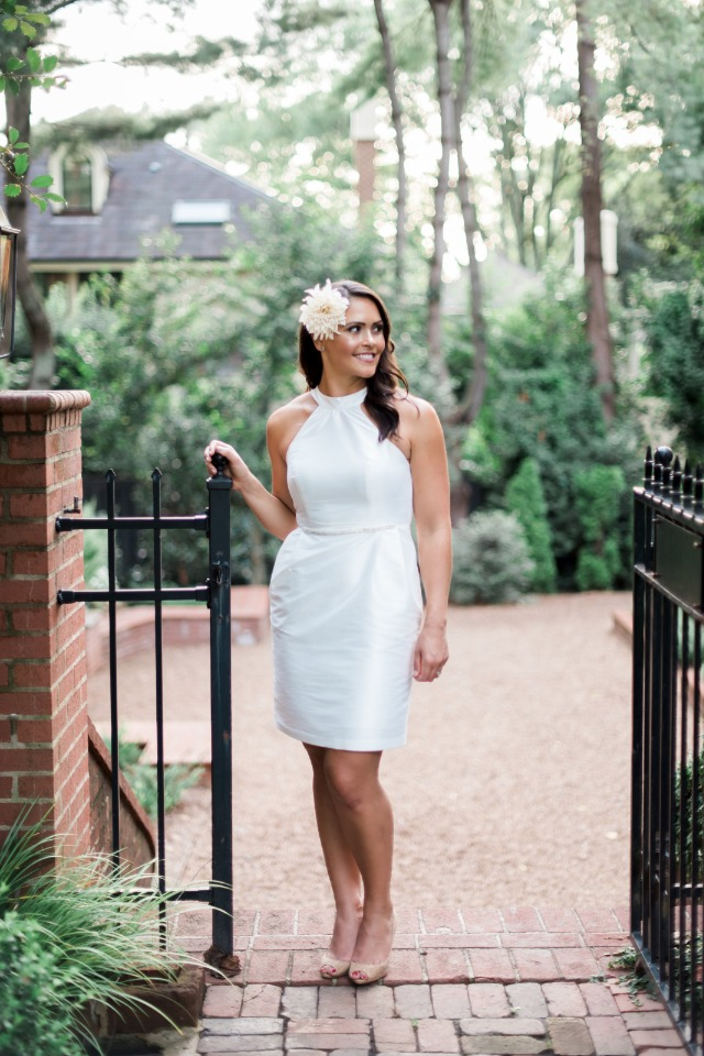 Stylish bridal shower dress