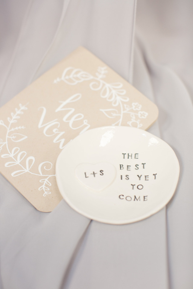 best is yet to come ring dish
