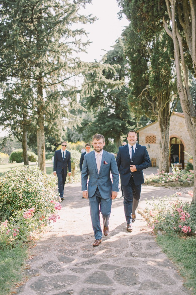 Grey and navy suits