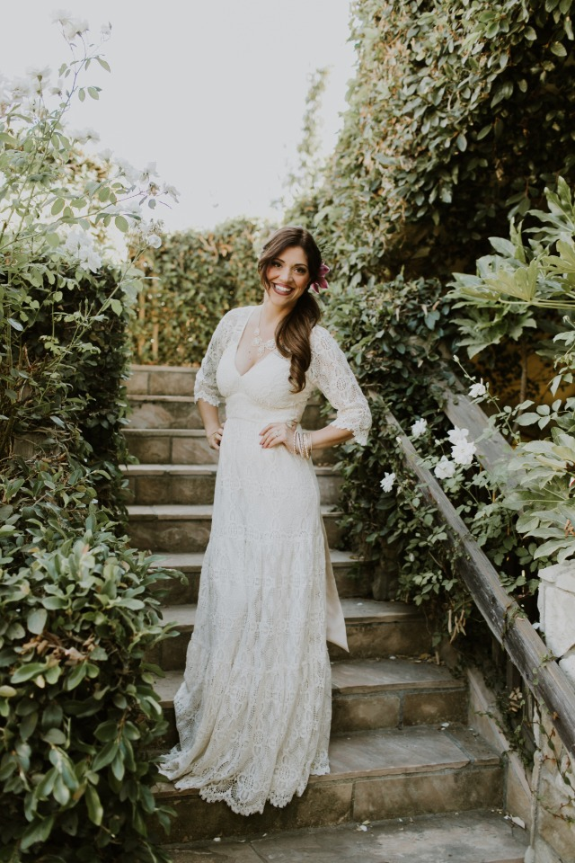 Beautiful bride-to-be