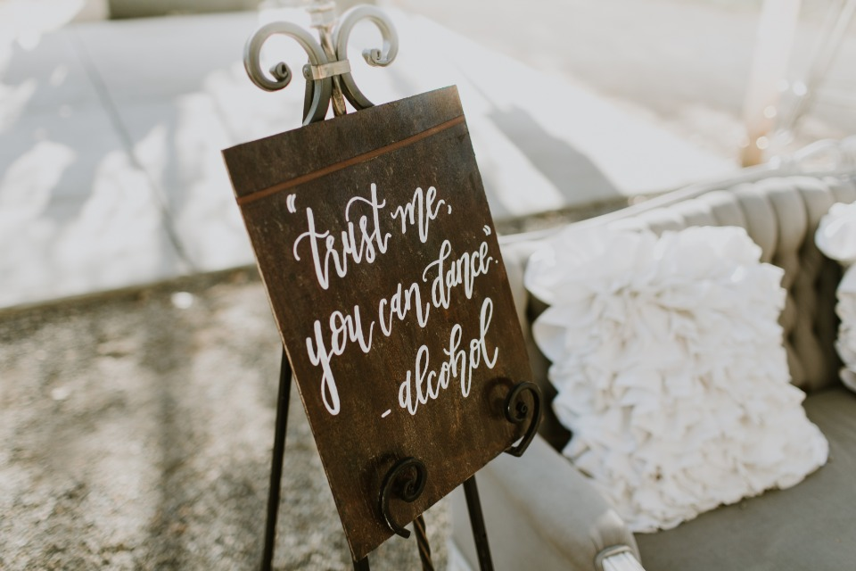 Wedding dance sign