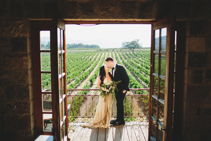 I could shoot here again and again, Michael and Miyuki bringing Tuscan vibes to Santa Ynez #sunstonewinery