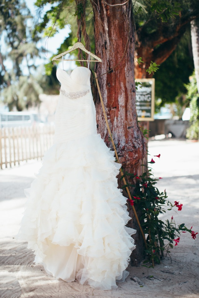 ruffled wedding dress from Vows Bridal Outlet