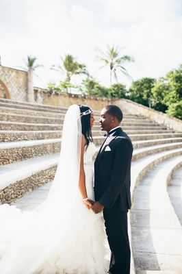 Find Out What Crazy Hour Is At This Punta Cana Beach Wedding