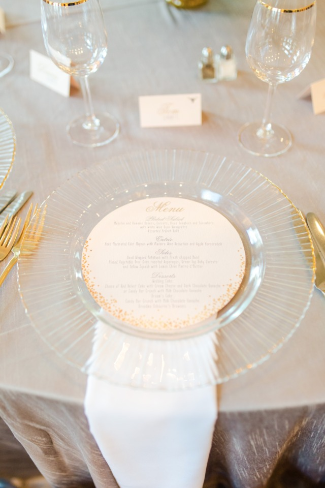 Elegant table place setting
