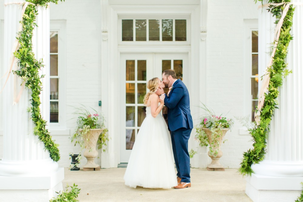 Naturally Elegant Blush and Gold Fairytale Wedding In Virginia
