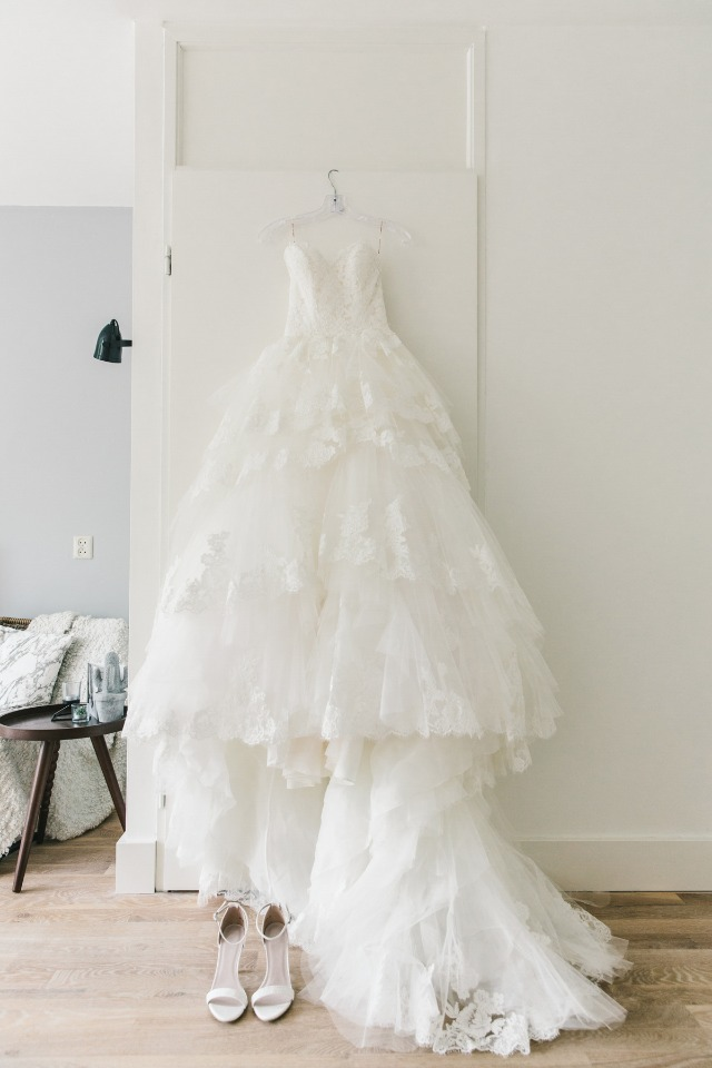 dreamy Maggie Sottero wedding dress