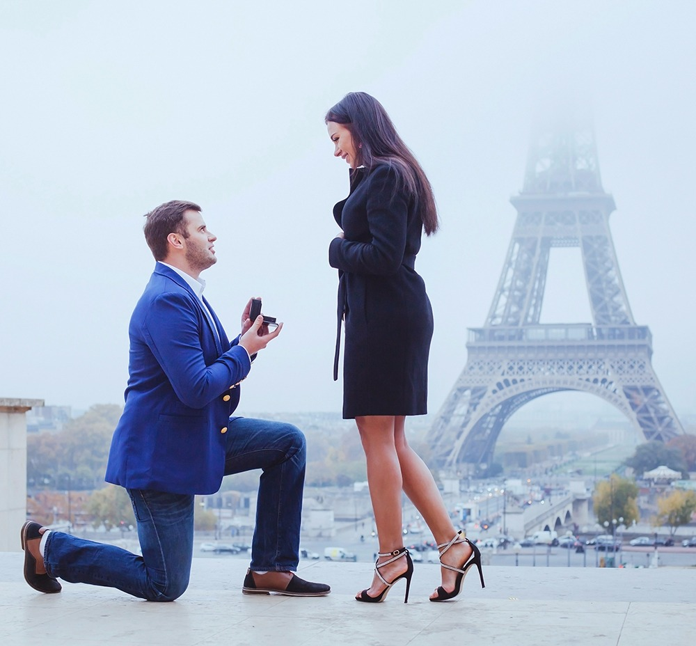 Winter Wedding Proposals And Pretty Engagement