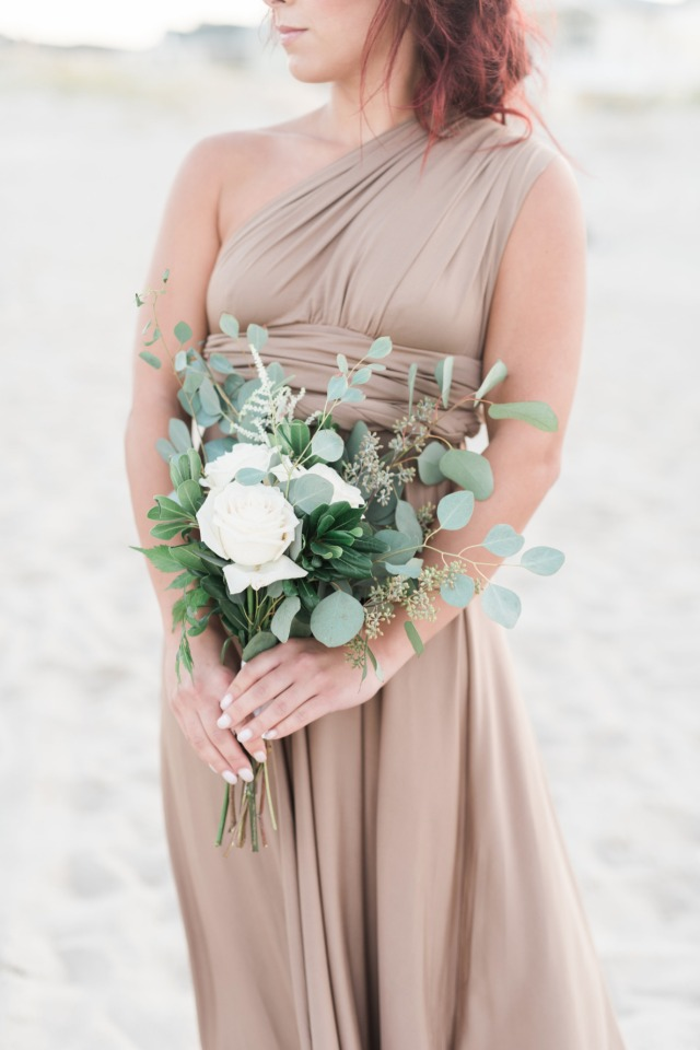 Boho bridesmaid bouquet