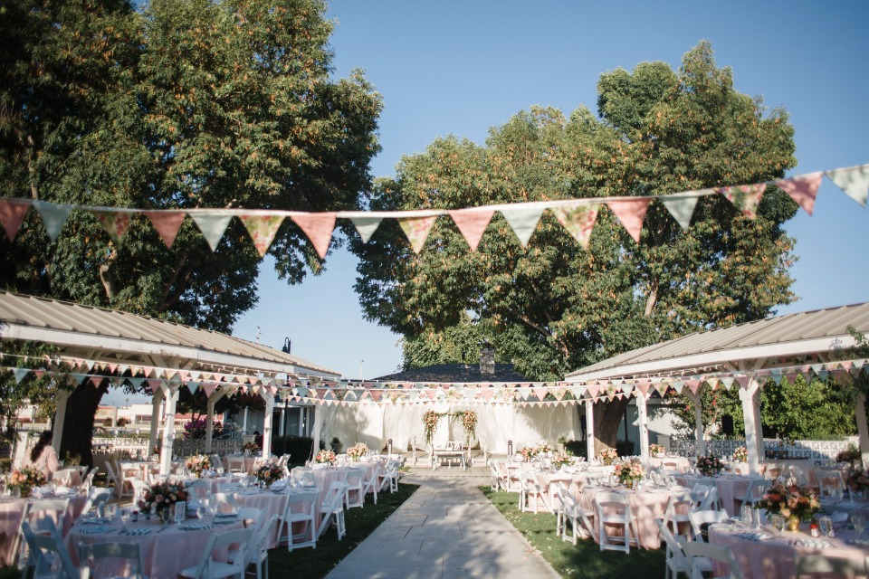 Colorful and fun outdoor wedding