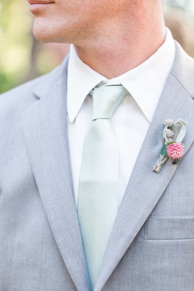 mint and grey groomsmen style