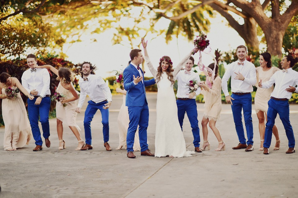 Have fun at your wedding!