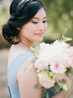 Be Creative With Your Something Blue, Bridesmaid Dresses Perhaps?