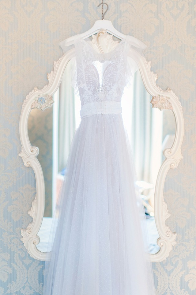 soft tulle wedding dress from Rara Avis