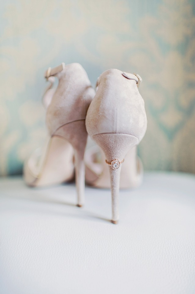 soft grey suede wedding shoes