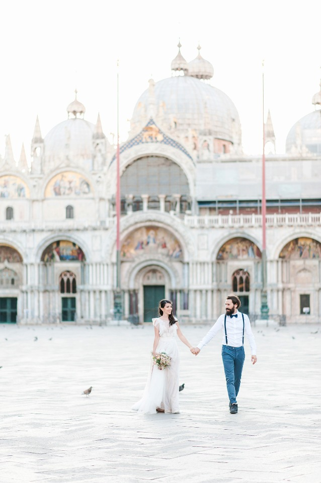 wedding elopement in Venice Italy