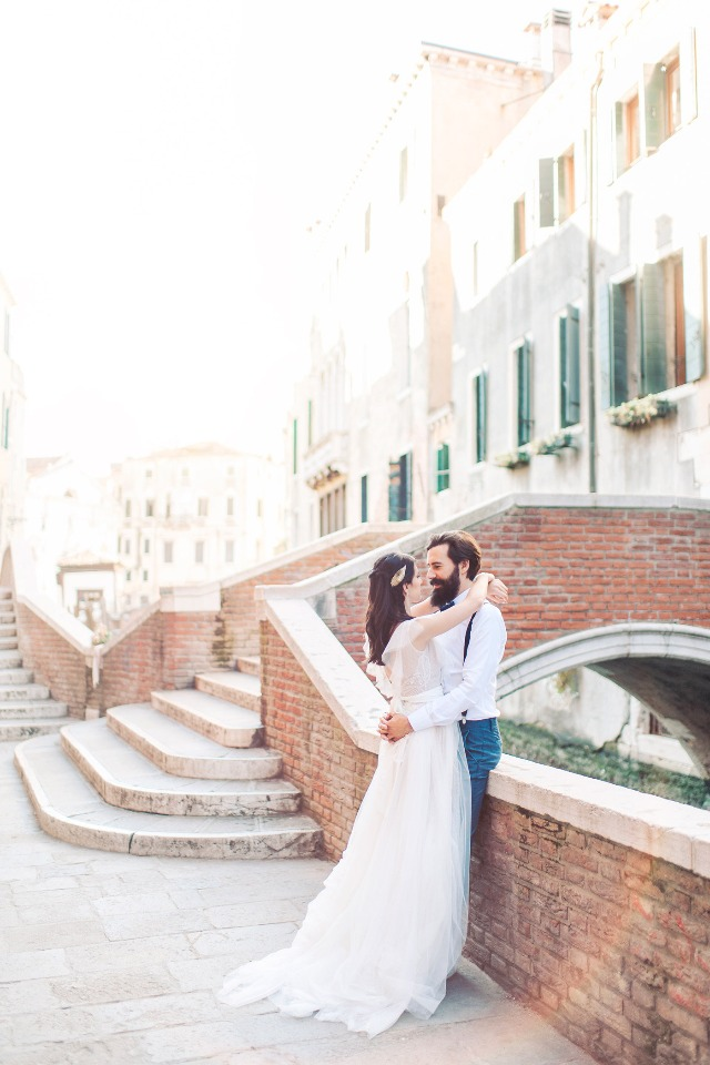 elopement in Venice Italy