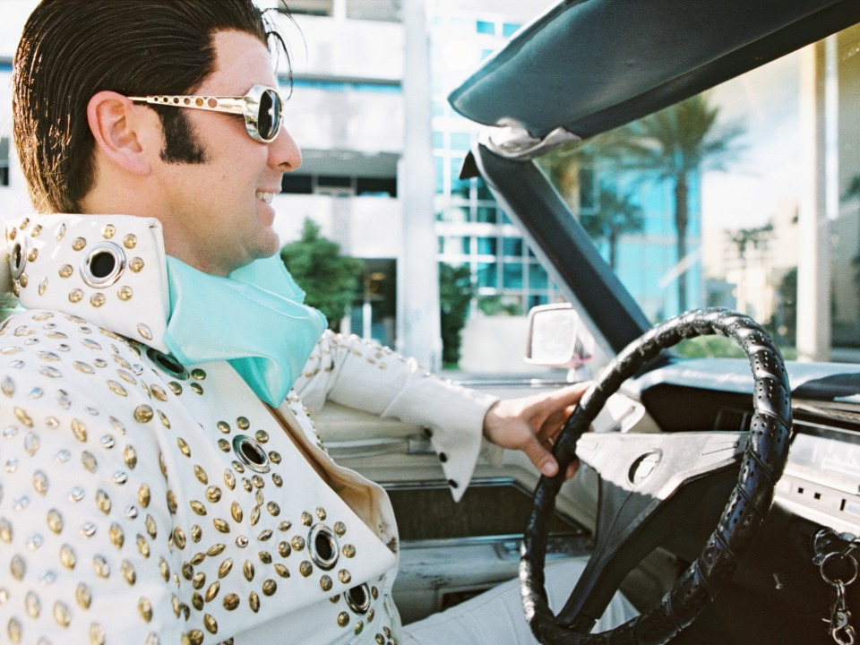 Elvis officiant and driver