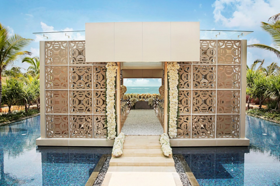 Harmony Chapel at the Mulia Resort in Bali