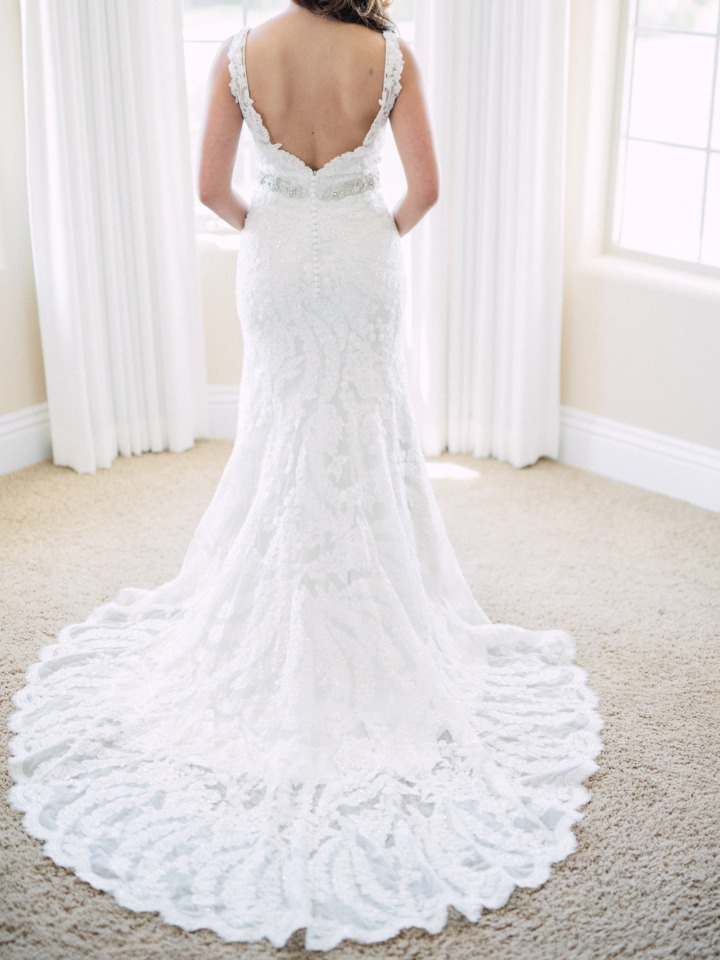 wedding dress from Allure Bridals
