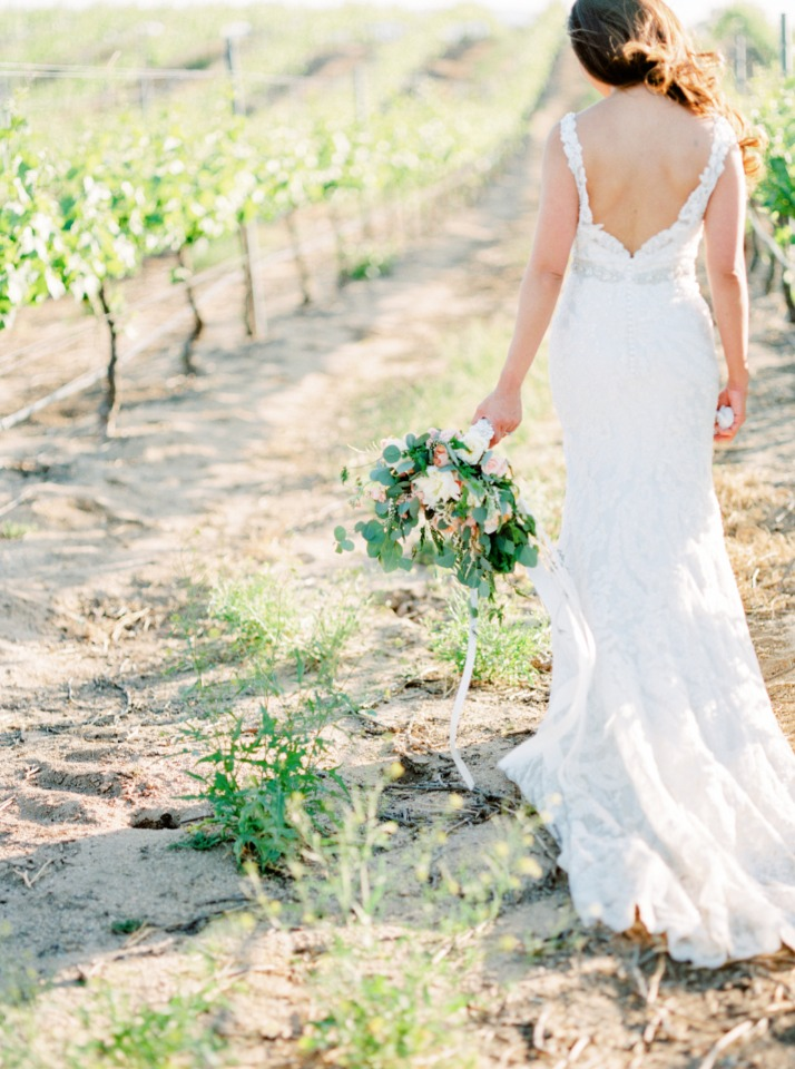 bride in lovely dress from Allure Bridals